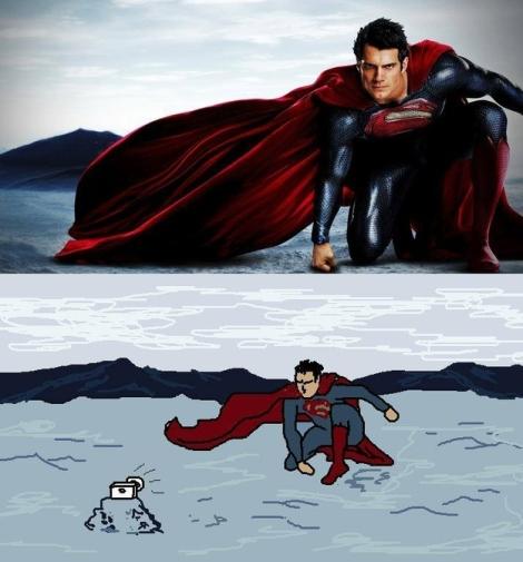 Superman-Selfie