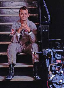 Bill-Murray-on-the-set-of-Ghostbusters