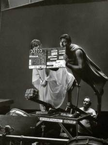 Margot-Kidder-and-Christopher-Reeve-on-the-set-of-Superman