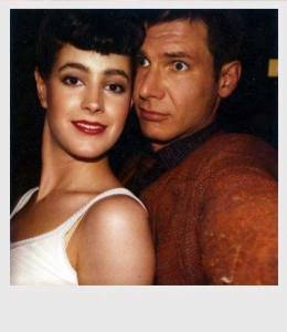 Sean-Young-and-Harrison-Ford-on-the-set-of-Blade-Runner