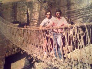 Steven-Spielberg-and-George-Lucas-on-the-set-of-Indiana-Jones-and-the-Temple-of-Doom