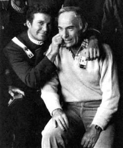 William-Shatner-and-producer-Harve-Bennett-on-the-set-of-Star-Trek-The-Wrath-of-Khan
