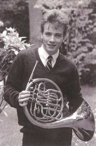A-young-Ewan-McGregor-with-a-French-horn